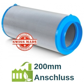 CarbonActive Granulate Filter 1000m³ / 200mm Flansch