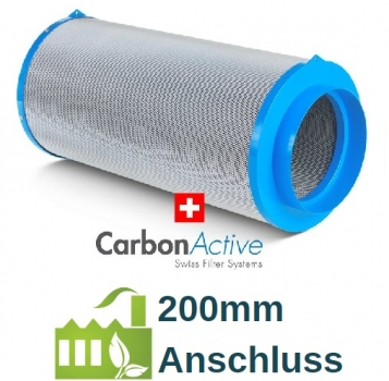 CarbonActive Granulate Filter 1200m³ / 200mm Flansch