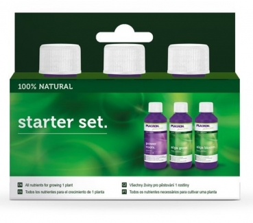 Plagron Starter Set 100% Natural
