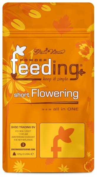 Greenhouse-Feeding short Flowering 125g