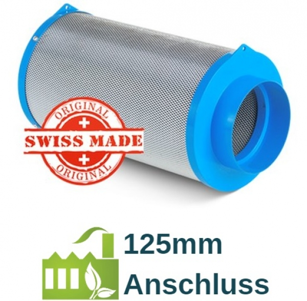 CarbonActive Granulate Filter 500m³ / 125mm Flansch
