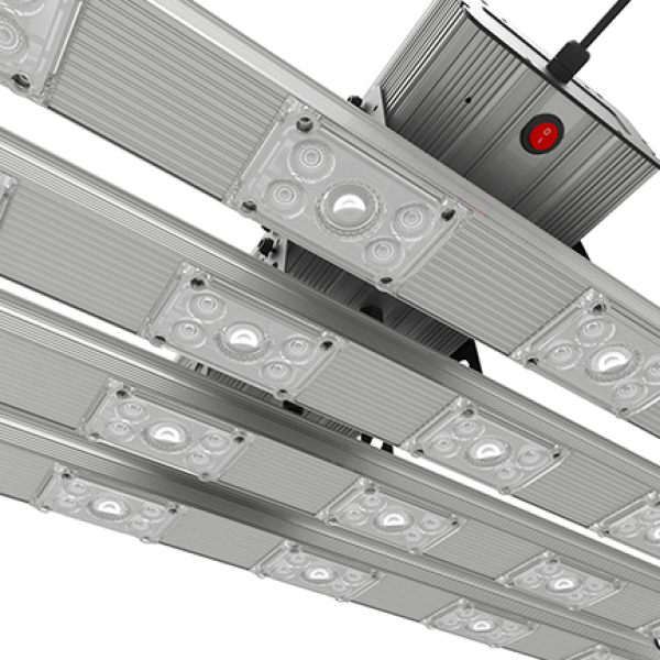 Greenception LED BAR 4 Set 276W passiv gekühlt